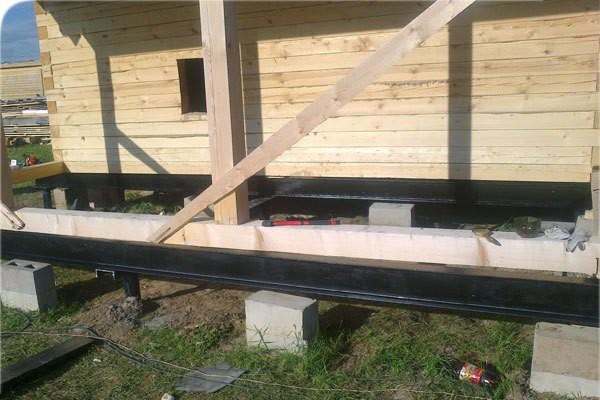 реконструкция фундамента